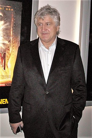 Andrzej Bartkowiak - Bartkowiak at the premiere of Doom, October 2005