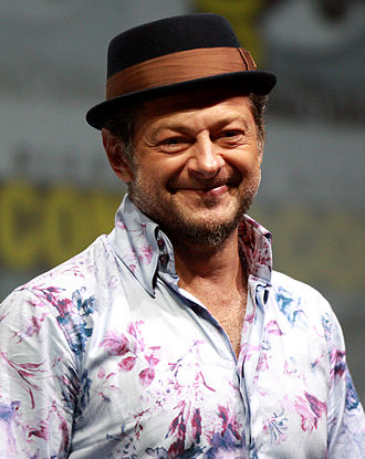 Andy Serkis - Serkis at the 2013 San Diego Comic-Con International.