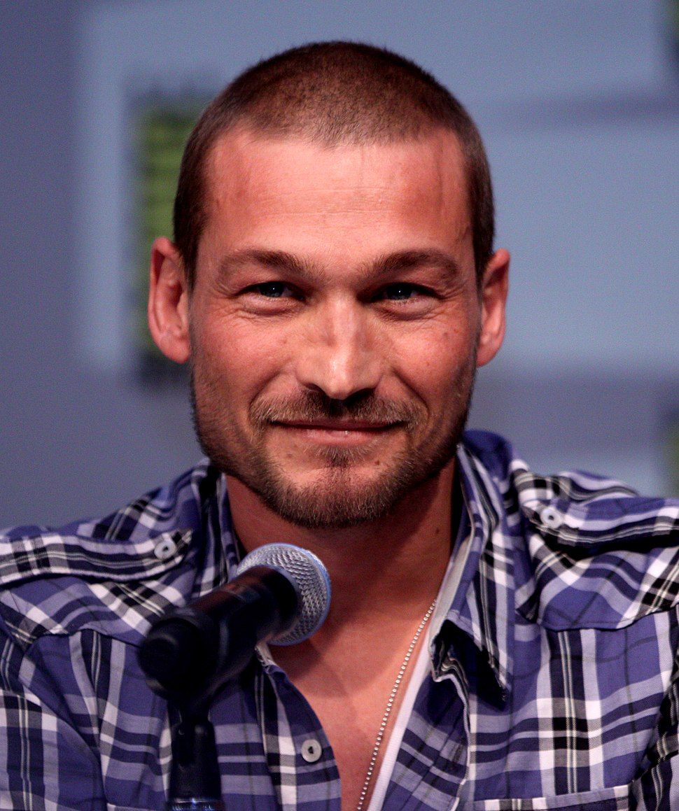 Andy Whitfield by Gage Skidmore