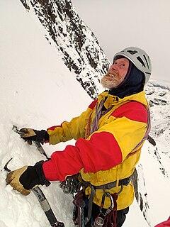 Andy Nisbet Scottish mountaineer