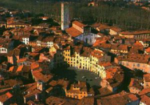 Piazza dell'Anfiteatro - Aerial view of Piazza dell'Anfiteatro