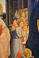 Angelico, pala di fiesole, con sfondo di lorenzo di credi, 03.JPG