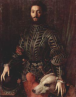 Angelo Bronzino - Portrait of Guidobaldo della Rovere.jpg