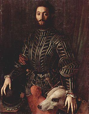 Guidobaldo II della Rovere, Duke of Urbino - Guidobaldo II by Agnolo Bronzino