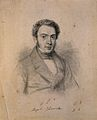 Angelo Sismondi. Pencil drawing by C. E. Liverati, 1841. Wellcome V0005460.jpg