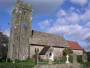 Angle, Pembrokeshire - Image: Angle Church