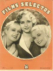 Anita Page, Madge Evans, Joan Marsh (1932)