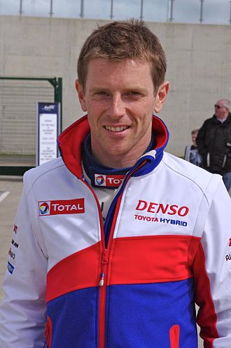 Anthony Davidson - Davidson at the Silverstone Round of the 2014 FIA World Endurance Championship