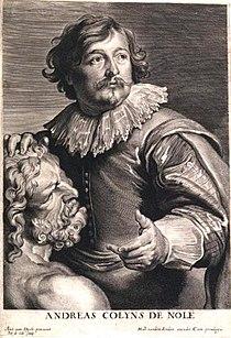 Anthony van Dyck - Martinus van den Enden - portret van Andreas Colyns de Nole.jpg