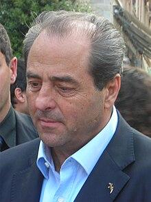 Di Pietro nel maggio 2011