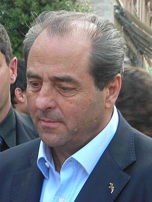 Italiano: Antonio Di Pietro a Savona giovedì 5...