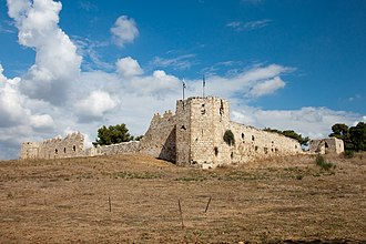 Antipatris - Binar Bashi, the Ottoman fortress at the head of the Yarkon River