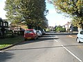 Approaching the junction of an autumnal Padnell Road and Greenfield Rise - geograph.org.uk - 1576269.jpg