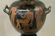 Apulian Red Figure hydria, athlete, Painter of Warsaw 188120, UCL 889, 154827.jpg