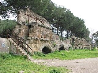 Aqua Marcia Ancient Roman aqueduct, built 144–140 BC