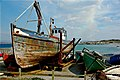 Aranmore Island - Fishing boat needing some TLC - geograph.org.uk - 1166064.jpg