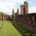 Arbroath Abbey - view along nave.jpg