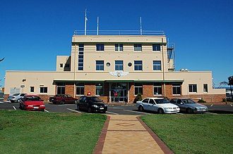 Archerfield, Queensland - Archerfield Airport terminal, 2007