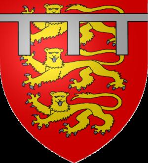 House of Mowbray - Image: Armoiries Thomas de Norfolk