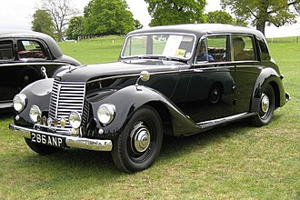 Armstrong Siddeley - Whitley four-light sports saloon