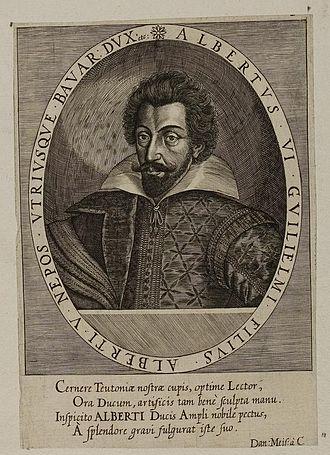 Albert VI, Duke of Bavaria - Duke Albert VI