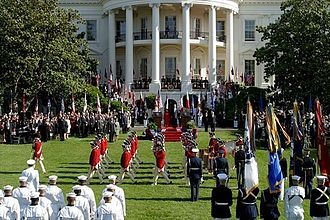 South Lawn (White House) - State Arrival Ceremony for Former President Gloria Macapagal-Arroyo of the Philippines