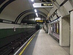 Arsenal station southbound