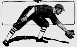 Art Kores as a member of the Portland Beavers.