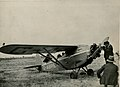Arthur Butler and the Comper Swift aeroplane G-ABRE in field, 1931.jpg