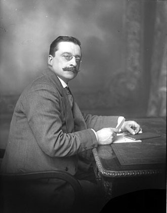 Anglo-Irish Treaty - Arthur Griffith, Irish Minister for Foreign Affairs and leader of the Irish delegation