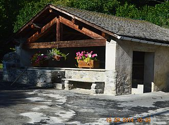 Artigues, Ariège - The Lavoir (Public Laundry)