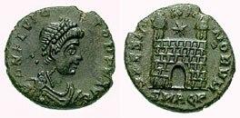 As Flavius Victor- aquileia RIC 055b1