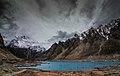 Attabaad lake in savage weather.jpg