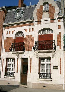 Attigny - maison d'André Dhotel