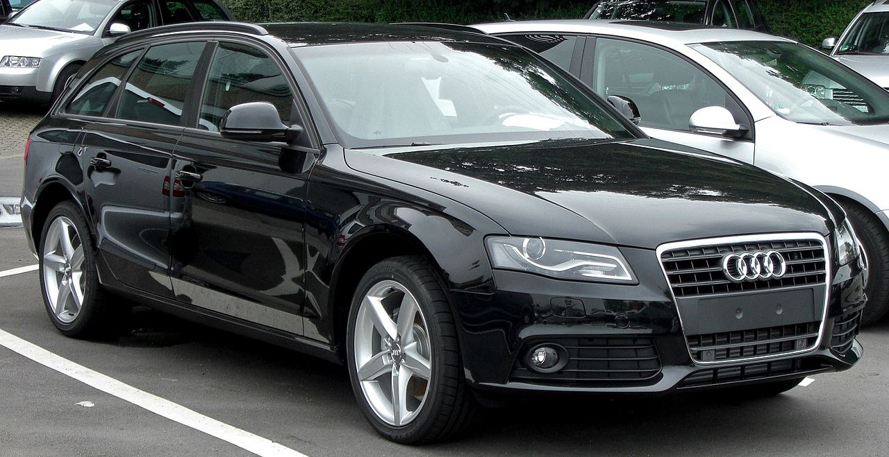 file audi a4 avant b8 front jpg wikimedia commons. Black Bedroom Furniture Sets. Home Design Ideas