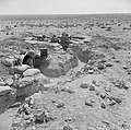 Australian troops man front-line trenches in the Tobruk perimeter, 13 August 1941.jpg