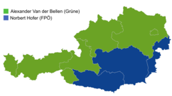Austrian presidential election 2016, second round (4 December 2016) results by state.png