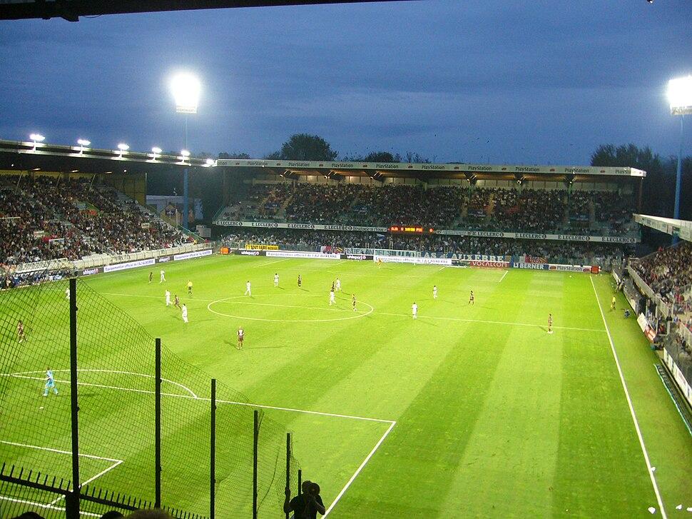 Auxerre - Stade Abbé-Deschamps (41)