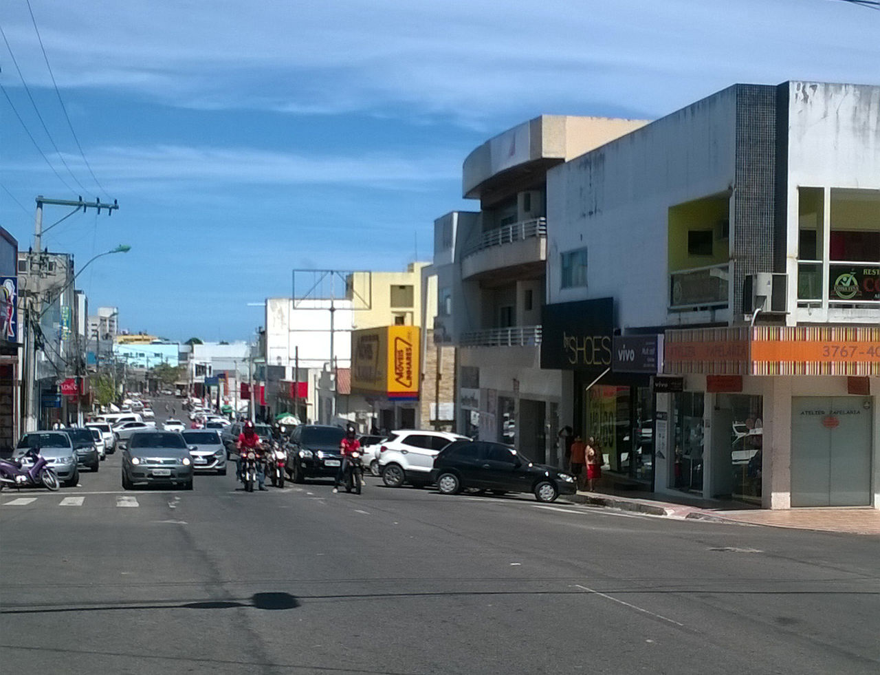 View of São Mateus