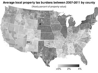 Taxation in the United States - Property taxes in the United States