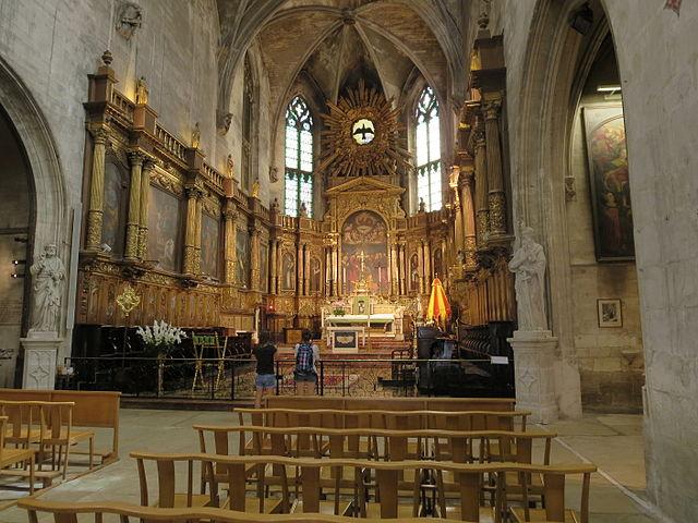 Eglise Saint Pierre Церковь Сен Пьер (Basilique Saint-Pierre d'Avignon)