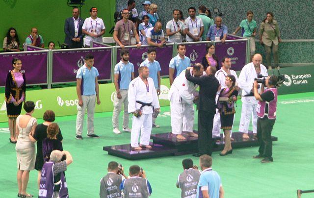 File:Awarding ceremony of the blind judo men +90 kg of the ...