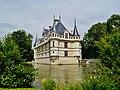 Azay-le-Rideaux Château d'Azay-le-Rideau Ostseite 4.jpg