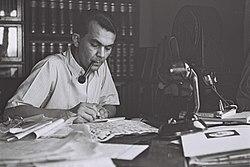עזריאל קרליבך, 1 במאי 1942 (צילם: זולטן קלוגר)