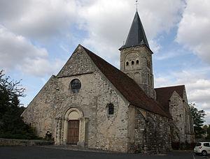 Azy-sur-Marne - The church of Saint Felix
