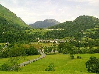 Aquitaine - Landscape in Pyrénées-Atlantiques, Aquitaine