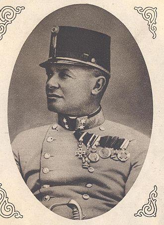 Hermann Kövess von Kövessháza - Hermann Kövess von Kövessháza, 1915