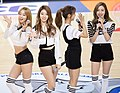 BESTie at Incheon multicultural youth event, 13 December 2014.jpg