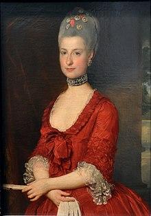 Erzherzogin Marie Christine von Habsburg-Lothringen (um 1766) (Quelle: Wikimedia)