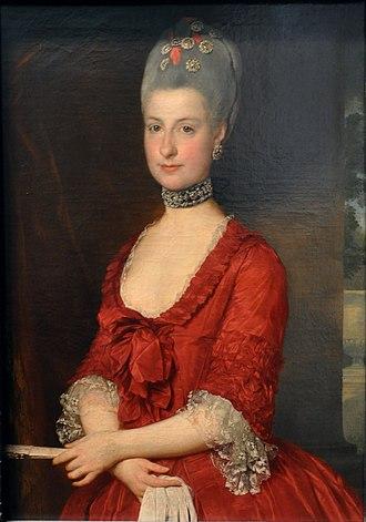 Marcello Bacciarelli - Image: Bacciarelli Marie Christine 1766